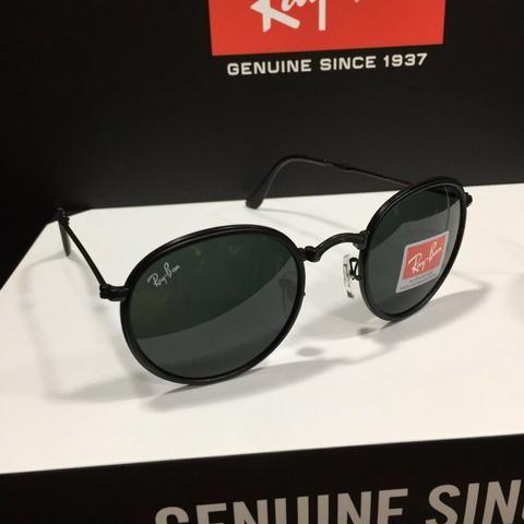 Óculos de Sol RayBan round dobravel - Bijouterias, relógios e ... 6b37fc458a
