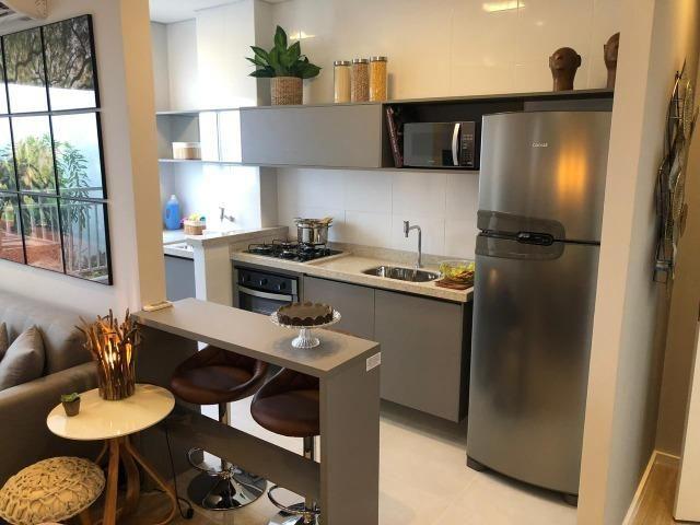 Square Residence Aptos 53m2 2 Dorms Varanda Gourmet Churrasqueira 1 Vaga Lazer Completo - Foto 4