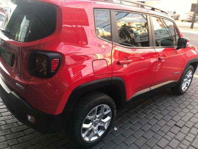 Jeep Renegade Londitude 2.0 Diesel Vermelho 2015 2016 - Foto 5