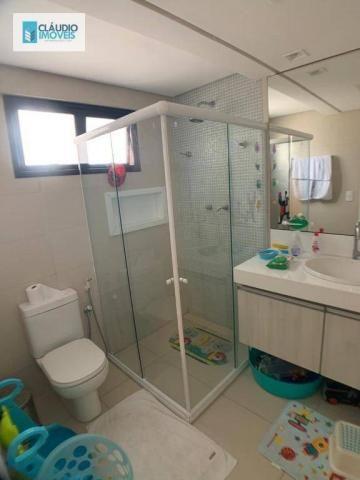 Apartamento com 4 dormitórios à venda, 203 m² por r$ 1.600.000 - jatiúca - maceió/al - Foto 12
