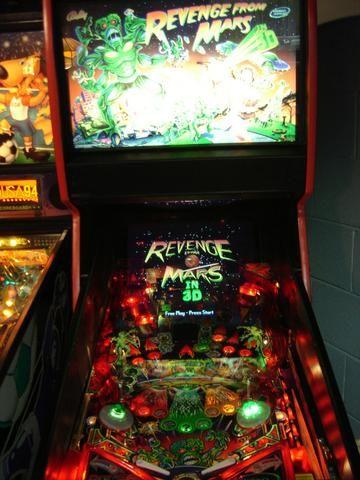 Máquina Pinball Fliperama Arcade Revenge From Mars Bally