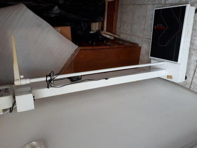 Balança Eletrônica adulto comm règua, usada - Foto 2