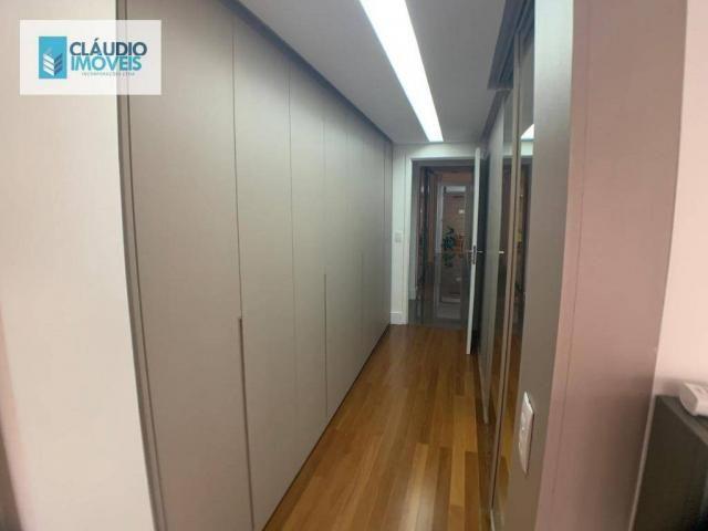 Apartamento com 4 dormitórios à venda, 203 m² por r$ 1.600.000 - jatiúca - maceió/al - Foto 8