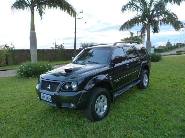 Pagero sport 2.5 4x4 manual a diesel impecavel