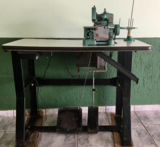 Máquina de overlock semi industrial 500,00