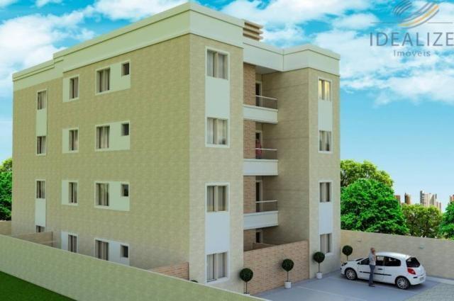 Apartamento à venda com 2 dormitórios em Afonso pena, São josé dos pinhais cod:2060496 - Foto 6