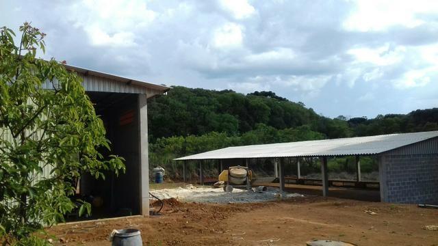 Barracão pré-moldados de concreto, galpões, granjas, estruturas metálicas - Foto 2