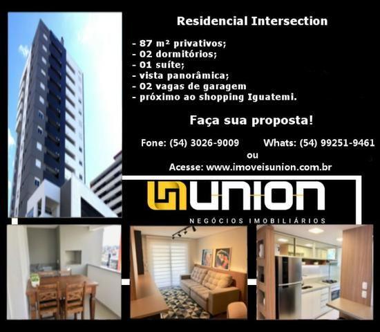 Oferta Imóveis Union! Apartamento novo no bairro Villagio Iguatemi com 85 m² privativos!