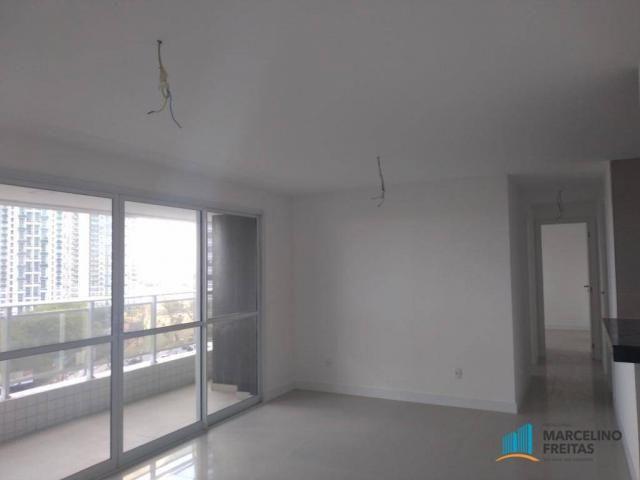 Apartamento com 3 dormitórios para alugar, 110 m² por r$ 2.079,00/mês - salinas - fortalez - Foto 5