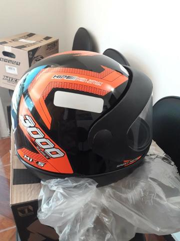 Promoção de capacetes novos de R$ 120 por R$ 85 - Foto 4
