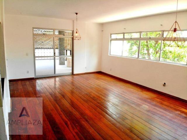 Apartamento com 3 dormitórios para alugar, 238 m² por r$ 2.200/mês - aldeota - fortaleza/c - Foto 4