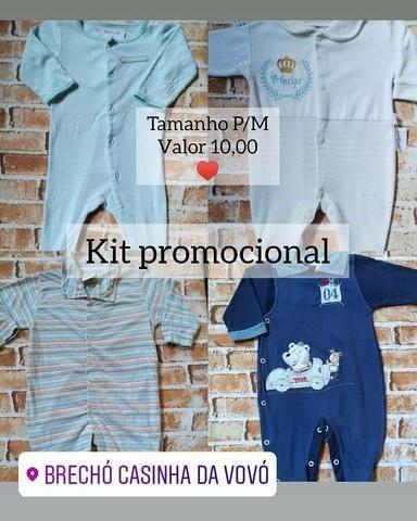 Kits promocionais para bebê