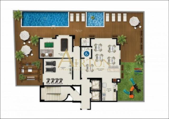Apartamento, L2023, 2 Dormitorios sendo 1 Suite, Lazer completo, em Itapema SC - Foto 3