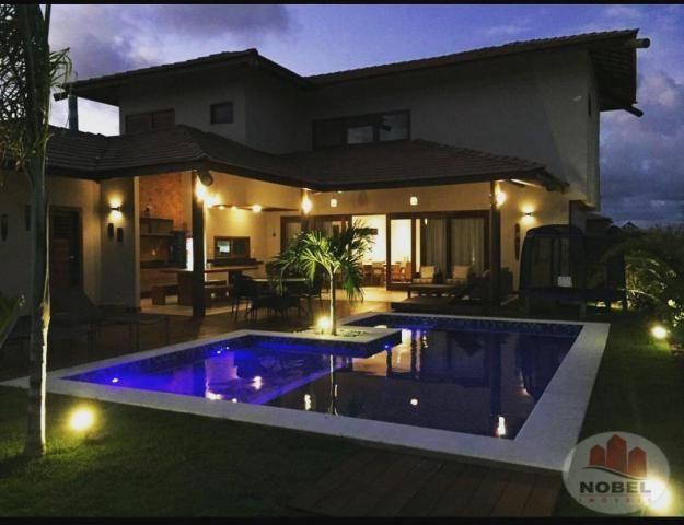 Casa de condomínio à venda com 5 dormitórios em Praia do forte, Mata de são joão cod:5811 - Foto 4