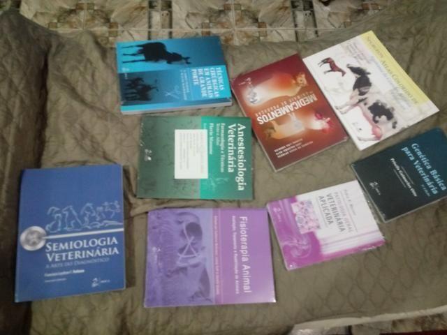 8 livros para formacao de veterinarios de grande e pequeno porte