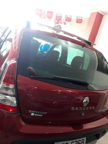 RENAULT SANDERO 2012/2013 1.6 STEPWAY 16V FLEX 4P MANUAL - Foto 4
