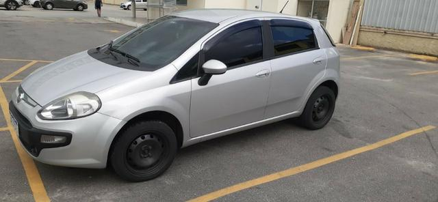 Lindo Fiat Punto 2016 1.4 Quitado Financio pelo banco - Foto 4