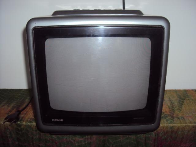"TV 10"" Polegadas Semp Toshiba Modelo 102 Portátil Televisão Televisor"