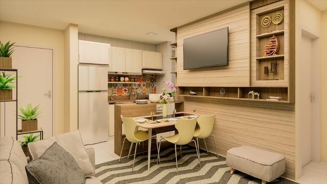 Apartamentos 2 quartos - Fazenda Rio Grande, a partir de 120 mil!, documentação grátis!! - Foto 8
