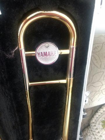 Trombone de vara Yamaha novo - Foto 2
