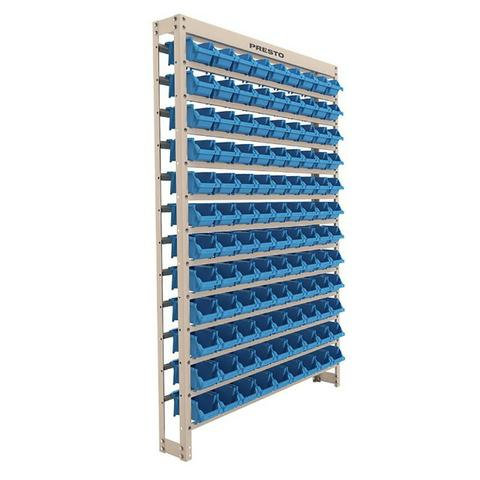 Gavetas Nº3 Preto/Azul Plástico Usadas Bom Estado Estante Gaveteiro Organizador Empilhável - Foto 2