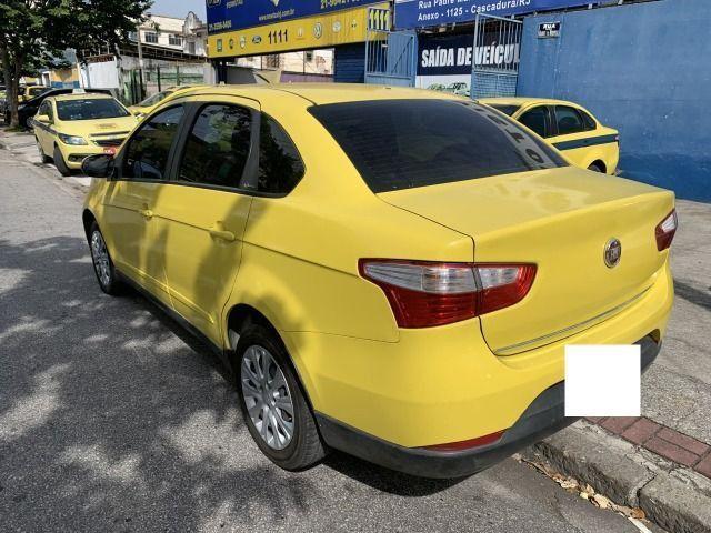 Fiat grand siena tetra 15/15 ex taxi, aprovação imediata, basta ter nome limpo!!!! - Foto 7
