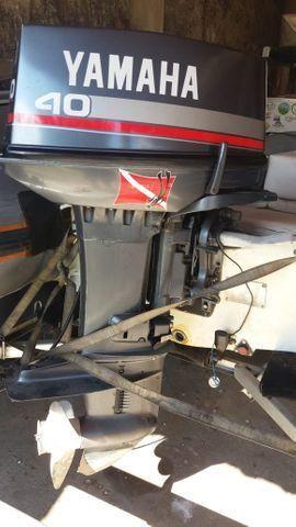 Barco Inflável Flexboat SR 12 motor Yamaha 40hp - Foto 4