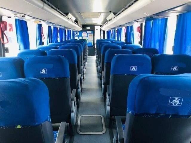 Ônibus Marcopolo Ideale 770 Volks Bus 17 230 OD Único Dono Fretamentos Com Ar Seminovos - Foto 6