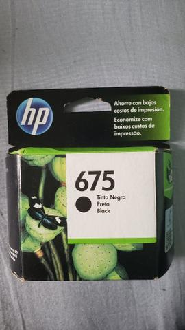Cartucho 675 HP tinta preta