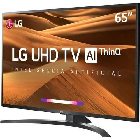 "Smart TV Led 65"" LG 65UM7470 Ultra HD 4K com Conversor Digital 4hdmi Wi-Fi - Foto 2"