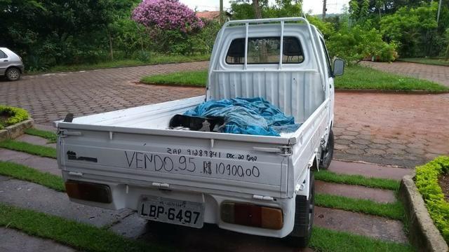 Ásia Towner Truck 96 Pick up carroceria revisada 12x cartões sem juros - Foto 4