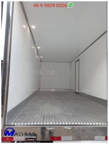Bau frigorifico novos sob media com pintura diferenciada Mathias implementos - Foto 4