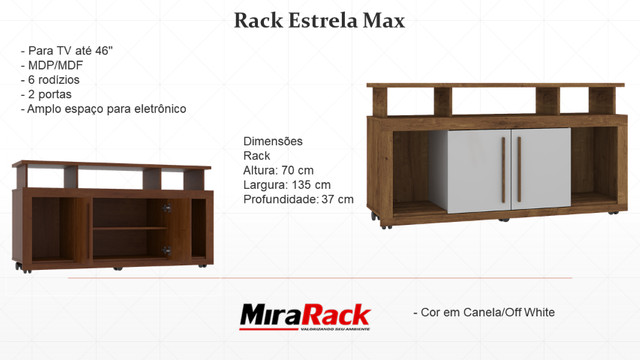 Rack Estrela Max