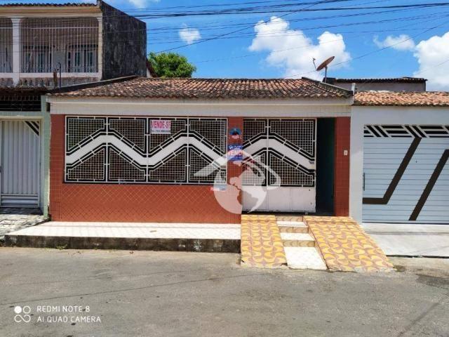 VD./ Casa com 3 dormitórios à venda por R$ 190.000 - Marcos Freire I - Nossa Senhora do So