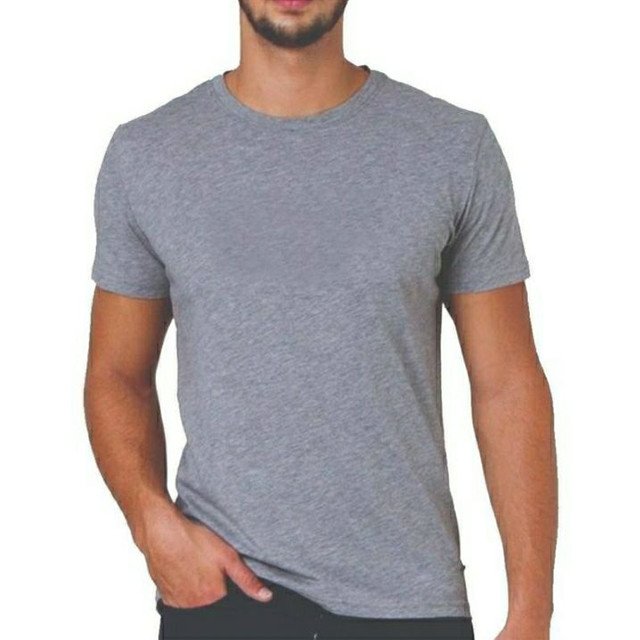 Camiseta Básica 100% Algodão Fio 30/1