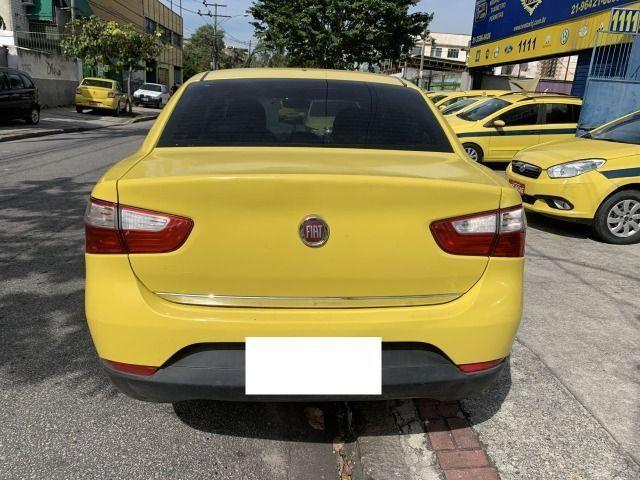 Fiat grand siena tetra 15/15 ex taxi, aprovação imediata, basta ter nome limpo!!!! - Foto 6