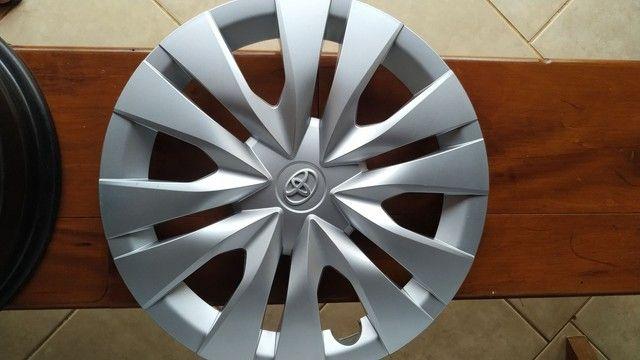 Rodas aro 15 Toyota Yaris novas - Foto 4