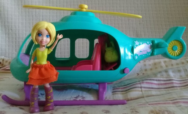 Helicóptero da Polly Pocket