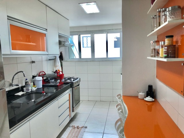 Apartamento com 3/4 completo de armários na ponta verde  - Foto 16