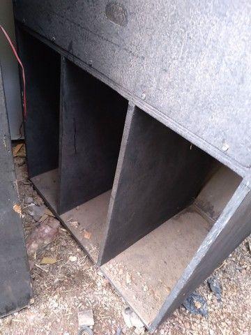02 caixa de madeira de som - Foto 4