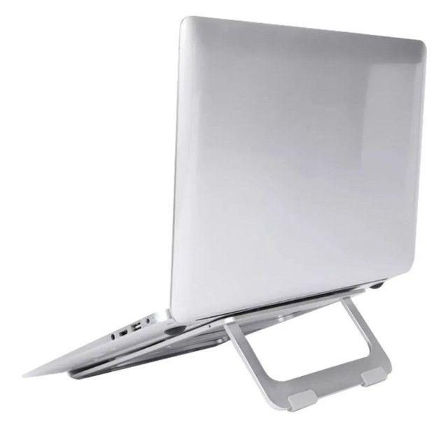 Suporte Para Notebook Macbook Em Alumínio 11 À 16 Polegadas - Foto 3