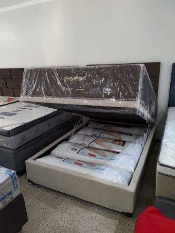 Box baú, base baú, cama Box baú novos reforçado - Foto 4