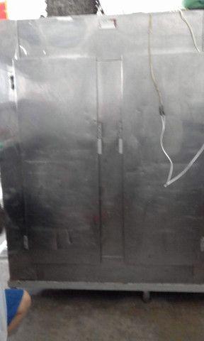 Balcão ,expositor e geladeira de açoque seminovos   - Foto 2