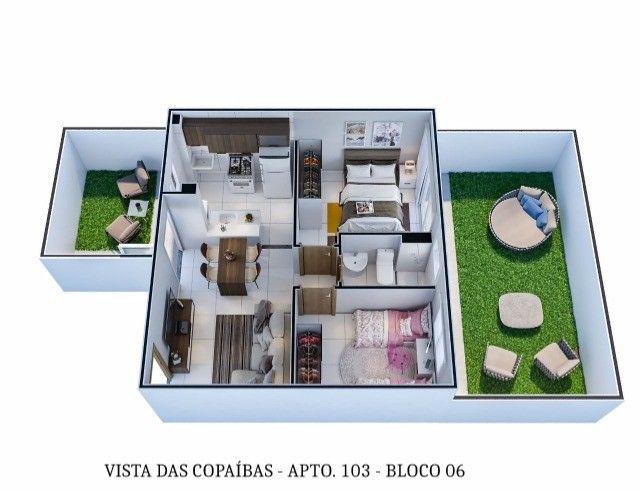 LP/ Use seu FGTS e conquiste seu Apê no Residencial Vista das Copaíbas - Foto 5