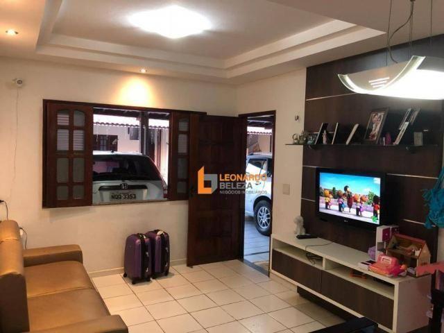 Casa Plana em Condomínio, 3 qtos à venda, 120 m² por R$ 260.000 - Lagoa Redonda - Fortalez - Foto 3
