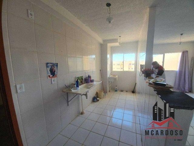 Apartamento com 02 quartos, sala, cozinha, 01 banheiro, 01 vaga de garagem, 3º andar - Foto 8