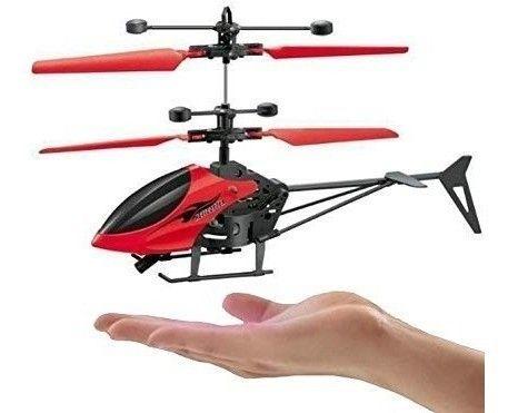 Helicóptero Voador com Sensor a Mão