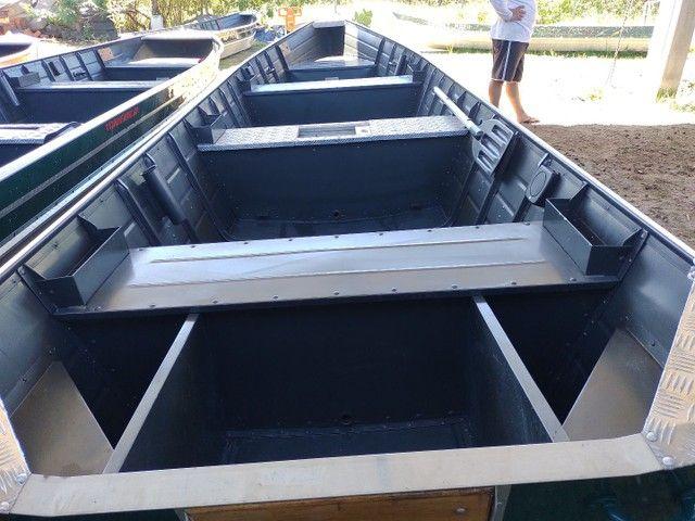 Barcos alumínio novos e usado  - Foto 3