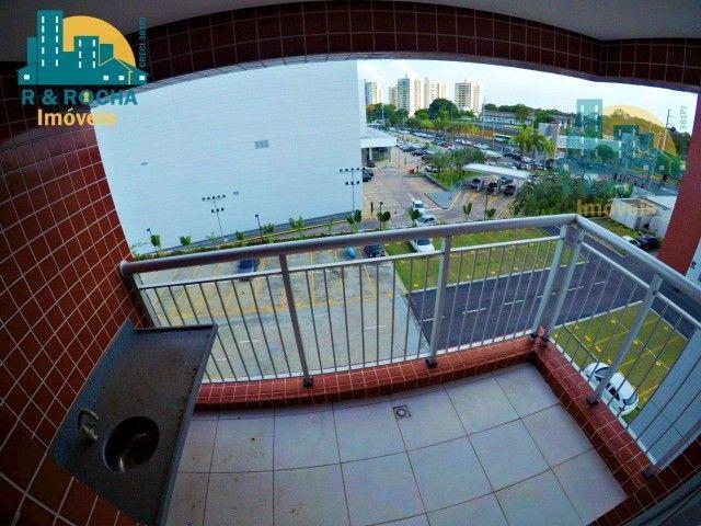 River Side (Ao Lado do Shopping Ponta Negra) - Apto com 2 quartos (1 suíte) - 66m². - Foto 7