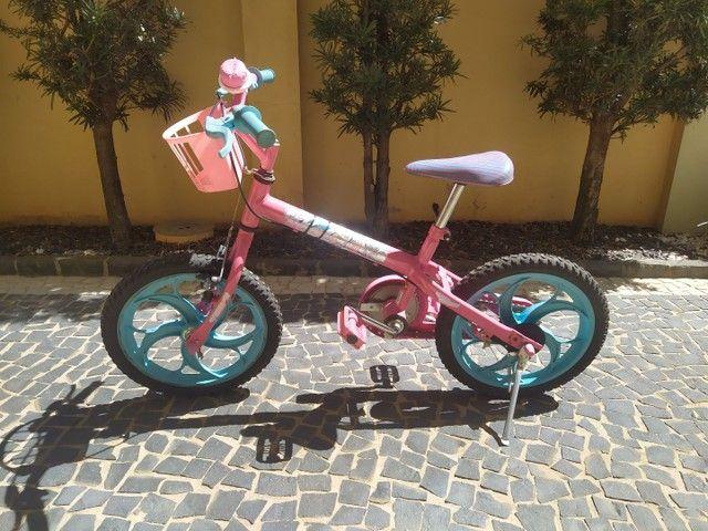 Bicicleta Aro 16 - Barbie - Caloi - Foto 3